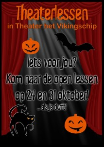 flyer theater voorkant